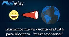 Una nueva cuenta gratuita para bloggers, de hasta 600.000 envíos mensuales, con capacidad para 120.000 suscriptores. Aplicable a cualquier tipo de temática