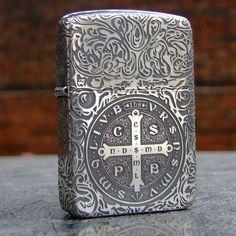 Regular 1941 Vintage Sterling Silver Constantine Zippo Lighter