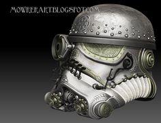 steam punk stormtrooper helm