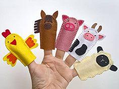 Hračky - Zvieratká 1. - prstové bábky - 9097132_ Peppa Pig Doll, Dolls, Handmade, Feltro, Puppet, Doll, Baby, Hand Made, Handarbeit
