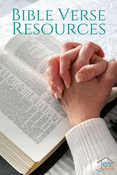 Great resources for the whole family! Bible verses for all ages, and perfect verses for parenting with faith focus child rearing.  via /joyinthehome/