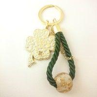 Γούρι Κλειδοθήκη Πράσινο ΓΟ10115 Charms, Personalized Items, Pendants