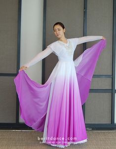 [조끼] 딜라이트(투) - 보라 Worship Dance, Praise Dance, Dance Outfits, Dance Dresses, Color Guard Costumes, Tambourine, Church Outfits, Just Dance, Dance Costumes