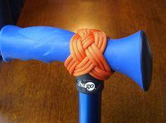 Stormdrane's Blog: T Handle Turks Head Knot...