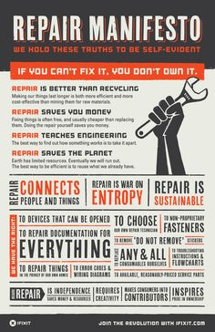 Show your self repair spirit with this stylish poster! Part Professionals and DIYers alike trust iFixit tools to get the job done