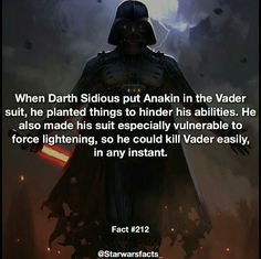 Not a day goes by that I don't hate Sidious // Star Wars Facts