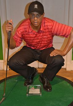 Madame Tussauds - London Tiger Woods