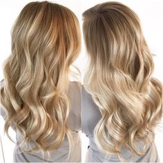 Perfect Blending // Tape Hair Extensions & Balayage For This Beauty #hairextensions #tapehair #tapeextensions #longhair #curls #beautiful #blonde #blondehair #blondebalayage #balayage #hair #haircolor #torontosalon #headcandystudio #hairextensionspecialist #colormelt