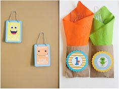 Bright Colorful Monster Party!
