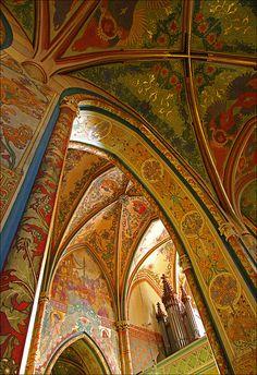 St Peter and Paul Basilica at Vyšehrad Fortress, Prague, Czech Republic