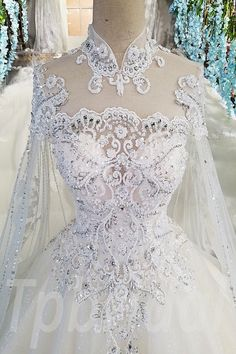 Laced up embroidered sequinned - Item specifics Item Type:Wedding Dress Train:Court Train Built-in Bra:Yes Decoration:Flowers,Sequin - Wedding Dress Train, Wedding Dresses 2018, Luxury Wedding Dress, Bridal Dresses, Pnina Tornai, Lace Ball Gowns, Ball Dresses, Dresses Dresses, Stunning Dresses