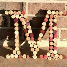 Upcycled Wine Cork M design inspiration on Fab.