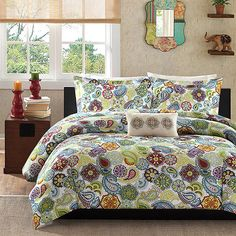 Must do double-duty for teenage boy room that will later be a guest room. And this mom has to like it. And it can't be too spendy. Is that too much to ask?  Your Zone Comforter Set, Tula - Walmart.com
