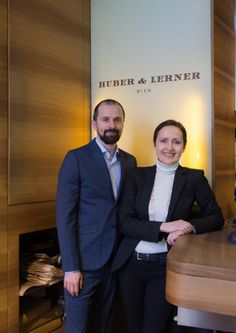 """Huber & Lerner - """"My brother is 11 years younger than me, so he is more familiar with the digital sphere. Art Of Love, Working Together, Family Business, Is 11, Brother, Challenges, Relationship, English, This Or That Questions"""