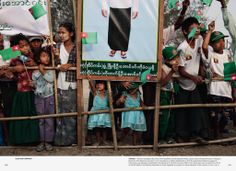 Change - Election campaign rally, Rangoon, Myanmar//Democracy - An Ongoing Challenge Rally, Campaign, Challenges, Change