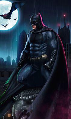Batman Fan Art, Batman Artwork, I Am Batman, Batman Comic Art, Superman, Batman Stuff, Ben Affleck Justice League, Batman Comic Wallpaper, Dc Comics