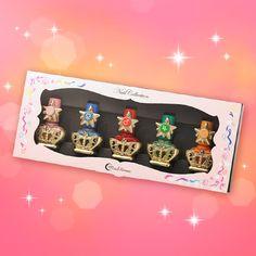 Official Sailor Moon nailpolish from Japan!!! http://www.moonkitty.net #SailorMoon