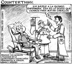 """¡El Hospital John Hopkins declara """"la Quimioterapia es la gran equivocación médica""""!  Quimioterapia es la gran equivocación médica""""  """"Después de muchos años de decirle a la gente que la quimioterapia es la única manera de tratar (tratar literalmente) y eliminar el cáncer, el Hospital John Hopkins esta finalmente empezando a decirle a la gente que hay alternativas."""