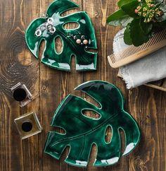 Leaves Decorative Plates