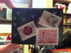 belle idée de carte fait main et fait maison par Allie 09 vie www.cartefaitmain.eu #carte #diy