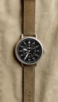 Bell & Ross WW1-92 Military. bellross.com, 888-307-7887.