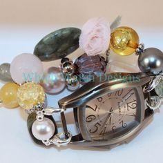Shabby Chic Vintage Floral Watch Band - Which Watch Designs