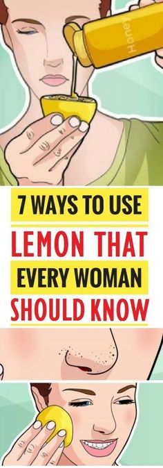 We all use lemon in our everyday lives, but rarely who knows all its uses.
