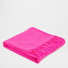 Pink Chenille Blanket - Throws - Decor and pillows | Zara Home United States