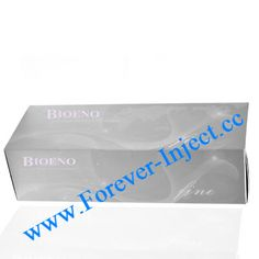 Package 2ml/piece Bioeno Fine : Suitable for nose jobs, chin Feng. Bioeno Original : Suitable for wrinkles, lip filler, ear lobe, tear groove, nasolabial folds, cheeks, temples, forehead, etc.  Bioeno Evolution : Suitable for wrinkles, lip injections, ear, tears ditch.  Bioeno Ultia : Suitable for cheeks, temples, forehead, chin, nose, etc.