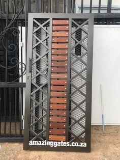 House Fence Design, Grill Door Design, Garage Design, Modern House Design, Iron Gates, Iron Doors, Latest Gate Design, Backyard Gates, Metal Stairs