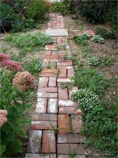 10 Garden Path Edging Ideas, Awesome and Stunning – Brick garden