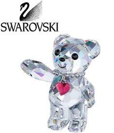 Swarovski Crystal Figurine Kris Bear-20th Anniversary  #1143456 New