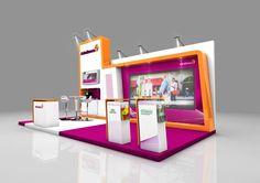 Exhibition booth design for Astrazeneca