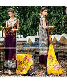 Tabassum Mughal Luxury Lawn Dresses 2015 Al-Zohaib