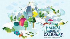 Zappar Magical Advent Calendar Has Animation Instead of Treats #advent #holiday trendhunter.com