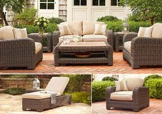 Northshore Collection From Brown Jordan #Spring #Patio #Backyard Weathered  Furniture, Outdoor Wicker