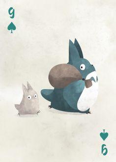 Ghibli Characters by Liza Sou Mei Totoro, My Neighbour Totoro, Studio Ghibli Art, Studio Ghibli Movies, Miyazaki, Illustrations, Illustration Art, Studio Ghibli Characters, Totoro Characters