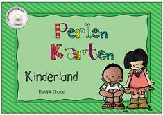 Perlen Karten: Kinderland (Ampel: Grün - Gelb - Rot)