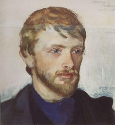 "Zinaida Serebriakova ~ ""Portrait of Boris Serebryakov"""
