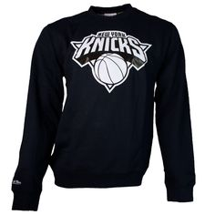 Mitchell & Ness Sweater Black & White / New York Knicks #fashion #knicks #sweater #style #styling #nba #newyork http://www.rudestylz.de/new-york-knicks-sweater.htm