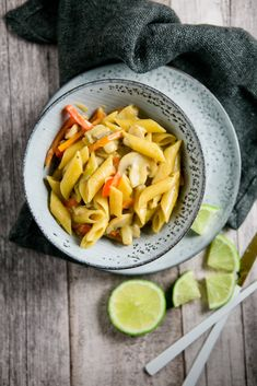 Thai Curry One Pot Pasta - www.kuechenchaotin.de