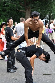 Tokyo's most lively park, with plenty of street performers.
