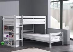 Corner bunk bed. Kerrossänky FORREST, pyökki 90x200 cm AQ-51935 - ON24 Sisustustavaratalo