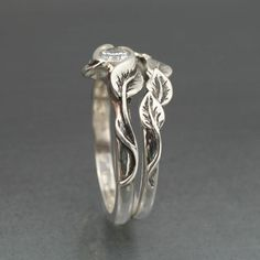 metal clay ring