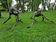 Creepers by Halloween Forum member Internet Troll. I must make some of these-super freaky!