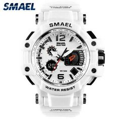 Pinterest White Watches For Men, High End Watches, Casual Watches, Stylish Watches, S Shock Watch, Glycine Combat, Seiko 5 Sport, Atm, Sport Watches