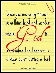 It's hard to remember, sometimes, that he is always there watching over us. This is a good reminder.