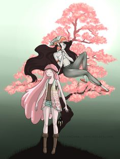 Hippie cherry blossom