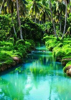 Lago Azul. Punta Cana