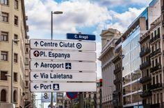 street signs in barcelona spain carissa rogers photography goodncrazy #rogersinspain
